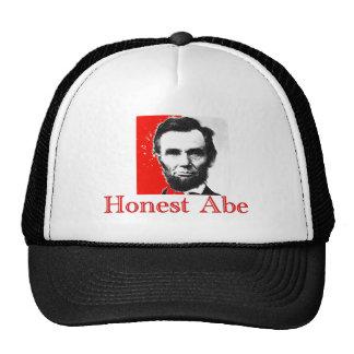 """Honest Abe"" Abe Lincoln Art T-Shirt & Gifts Mesh Hat"