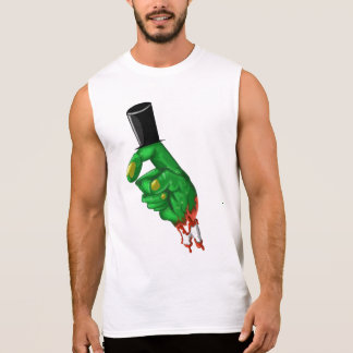 Honest abe zombie lincoln finger t shirt