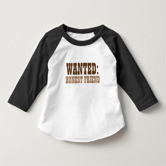 Honest Friend Toddler Raglan T-Shirt