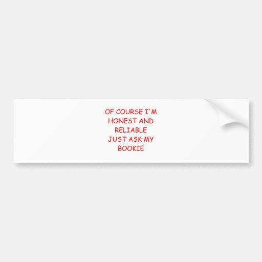honest man bumper stickers