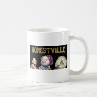 Honestville Icon 2.0 Classic White Coffee Mug