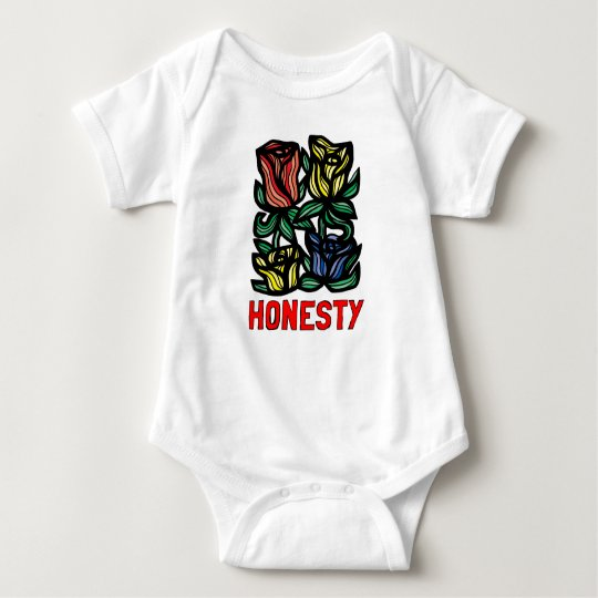 """Honesty"" Baby Jersey Bodysuit"