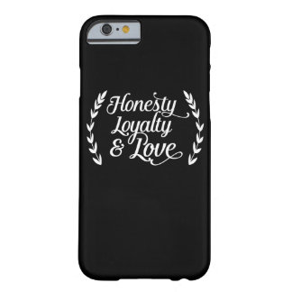 Honesty loyalty coils barely there iPhone 6 case