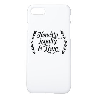 Honesty loyalty coils iPhone 7 case