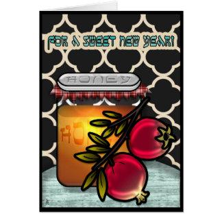 Honey and Pomegranates Card
