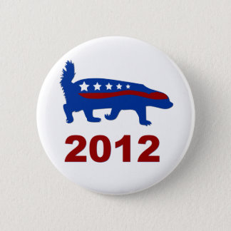 honey badger 2012 2 inch round button