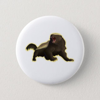 Honey Badger 2 Inch Round Button