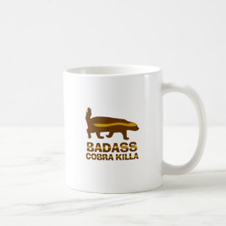 Honey Badger - Badass Cobra Killa Coffee Mug