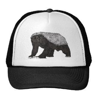 Honey Badger Baring his Teeth Trucker Hat