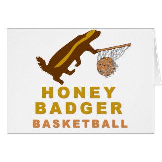 Honey Badger Basketball Card