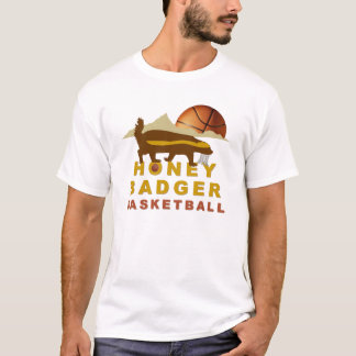 Honey Badger Basketball T-Shirt