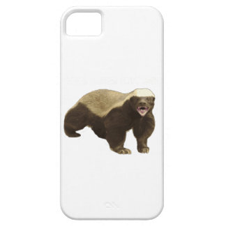 Honey Badger Bear iPhone 5 Cases