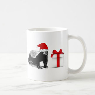Honey Badger Christmas Coffee Mug