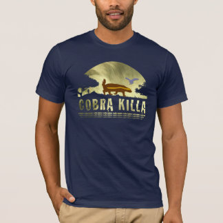 honey badger cobra killa golden sunset T-Shirt
