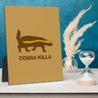 Honey Badger Cobra Killa Plaque