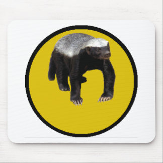 Honey Badger (Create Your Own Saying Below Him) Mouse Pad