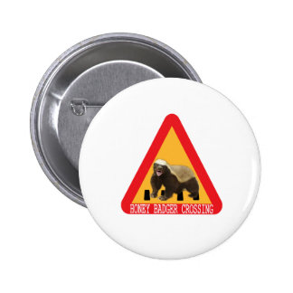 Honey Badger Crossing Sign Buttons