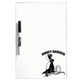 Honey badger dry erase boards