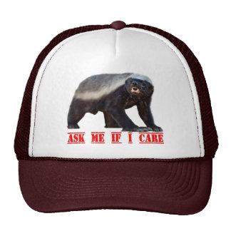 Honey Badger Mesh Hat