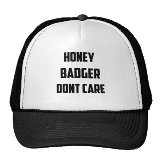 honey badger hats