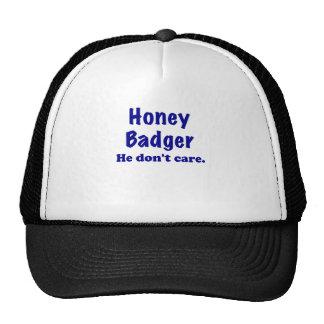Honey Badger He Dont Care Mesh Hat