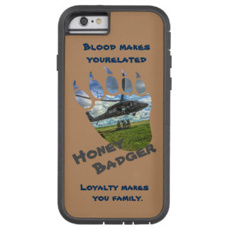 Honey Badger & Helicopter Tough Xtreme iPhone 6 Case