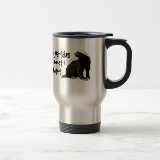 Honey Badger - I just takes what I wants Stainless Steel Travel Mug