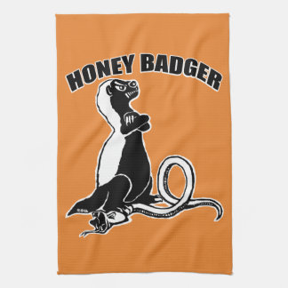 Honey badger kitchen towel