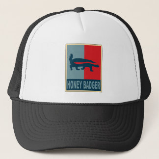 Honey Badger Obama Trucker Hat