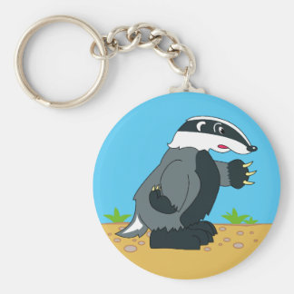 HONEY BADGER OR NOT KEYCHAIN