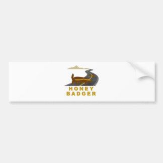 honey badger road kill bumper stickers