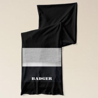 Honey badger scarf