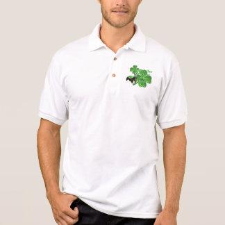 Honey badger st Patrick's day Polo Shirt