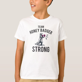 Honey Badger Strong Kids T-Shirt
