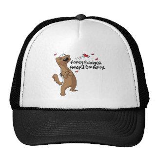 Honey Badger Valentine's Day Heart Breakder Hat