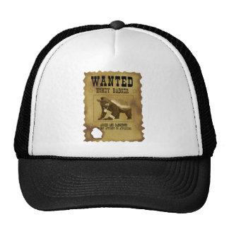 Honey Badger Wanted Poster Trucker Hat