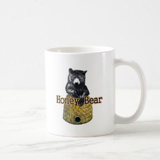 honey bear coffee mug