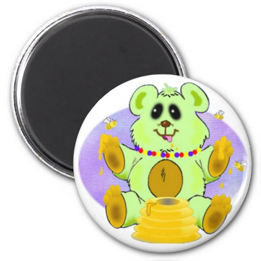 Honey Bear Refrigerator Magnets