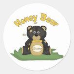 Honey Bear Stickers