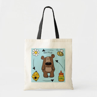 Honey Bear- The Recycler Tote Bag