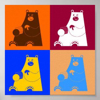 Honey Bears Poster