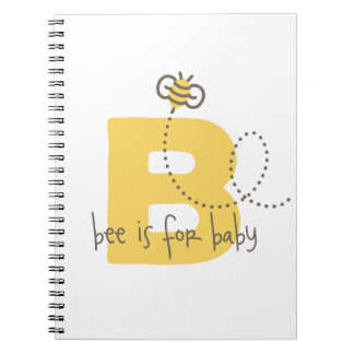 Honey Bee Baby Photo Album or Journal Spiral Note Book