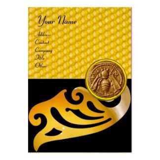HONEY BEE ,BEEKEEPER APIARIST BEEKEEPING LARGE BUSINESS CARD