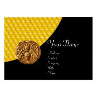 HONEY BEE ,BEEKEEPER APIARIST BUSINESS CARD TEMPLATE