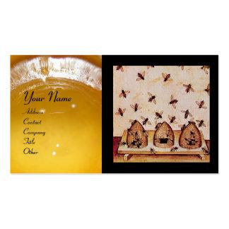 HONEY BEE ,BEEKEEPING,BEEKEEPER APIARIST BUSINESS CARD TEMPLATES