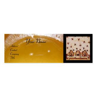 HONEY BEE ,BEEKEEPING,BEEKEEPER APIARIST BUSINESS CARDS