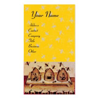 HONEY BEE ,BEEKEEPING,BEEKEEPER BUSINESS CARDS