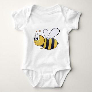 Honey Bee Cartoon/Clipart Jersey Bodysuit