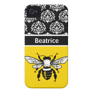Honey Bee Custom iPhone 4 Cases