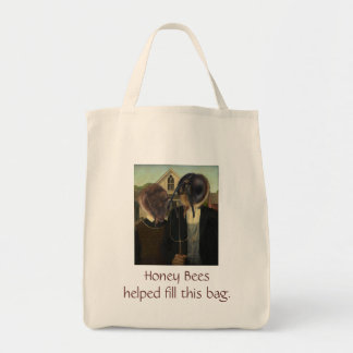 Honey Bee Farmers Grocery Bag